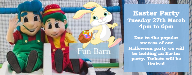 Bury Lane Fun Barn Easter Party 2018