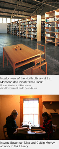 The Donald Judd Library, Marfa, Texas
