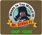 Where In The World is MsDebbieP?