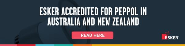 Esker accredited PEPPOL in A/NZ
