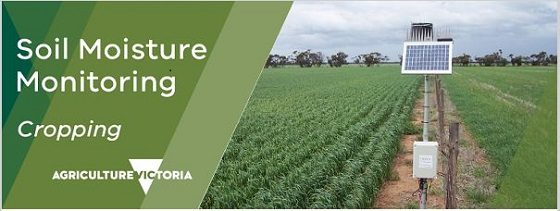 Soil Moisture Monitoring cropping