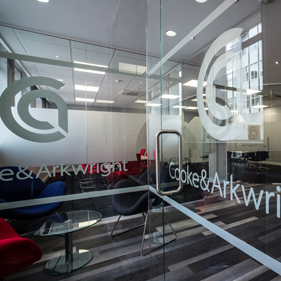Image of Cooke & Arkwright's new reception