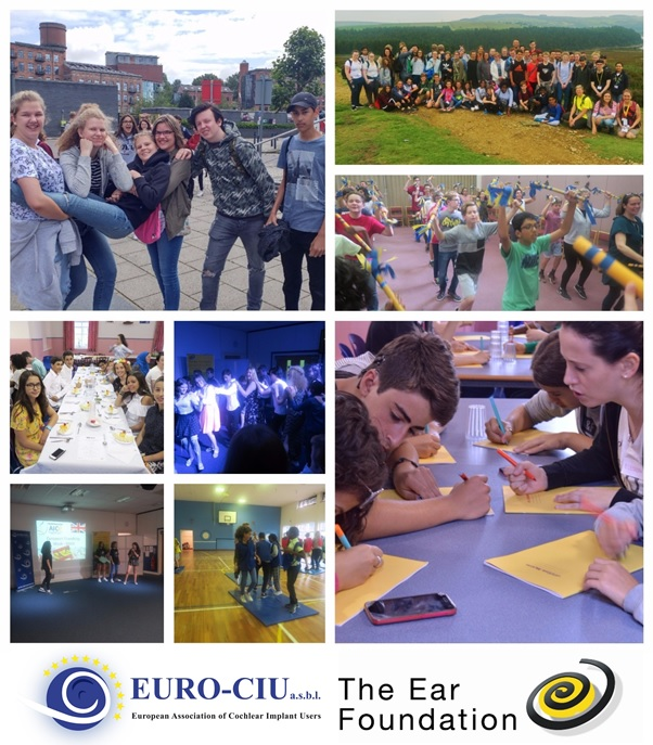Collage of photographs from European Friendship Week 2017