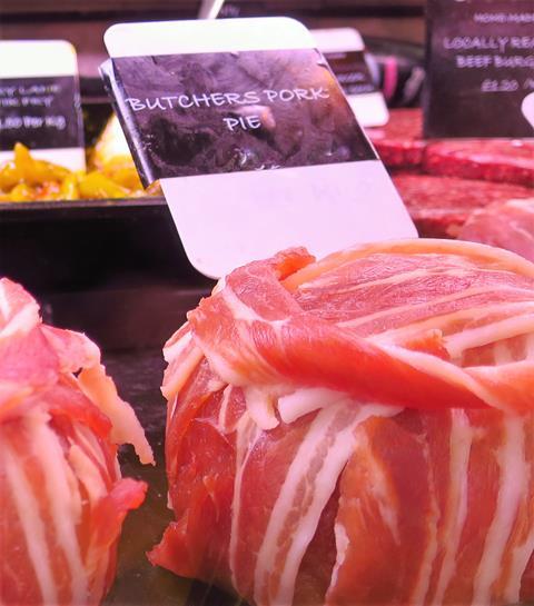 Bury Lane Farm Shop Butchers Pork Pie