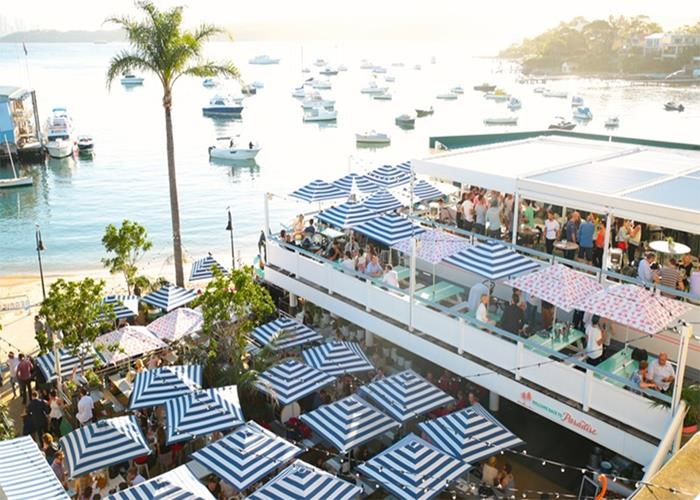 Waterfront bars in Sydney