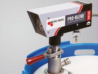 ProBlend®, das geschlossene Mischsystem von Micro Matic