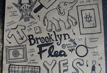 Brooklyn Flea Map