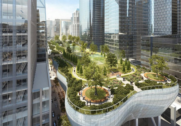 Salesforce Park Opening This Summer