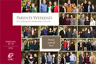 Parents Weekend Brochure