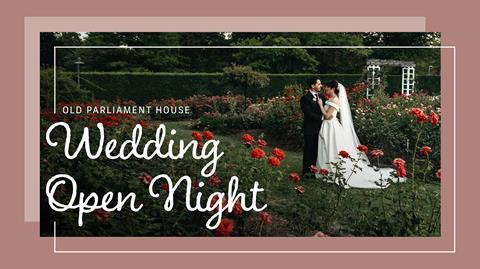Plan the wedding of your dreams at Old Parliament House