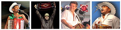 August festivals feature Mark St. Mary, Andre Thierry, Steve Riley and Jeffery Broussard.