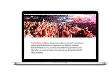 Sparkasse KölnBonn: Responsive Website Gut für Köln und Bonn