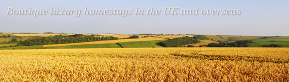 Boutique luxury homestays in the UK and overseas