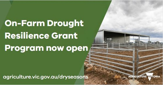On-farm drought resilience grant program