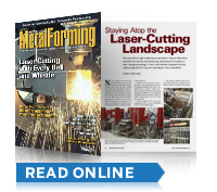 Metal Forming Magazine Featuring SW