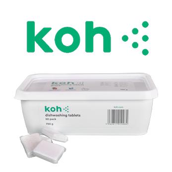 Koh's new GECA Certified  Dishwashing Tablet