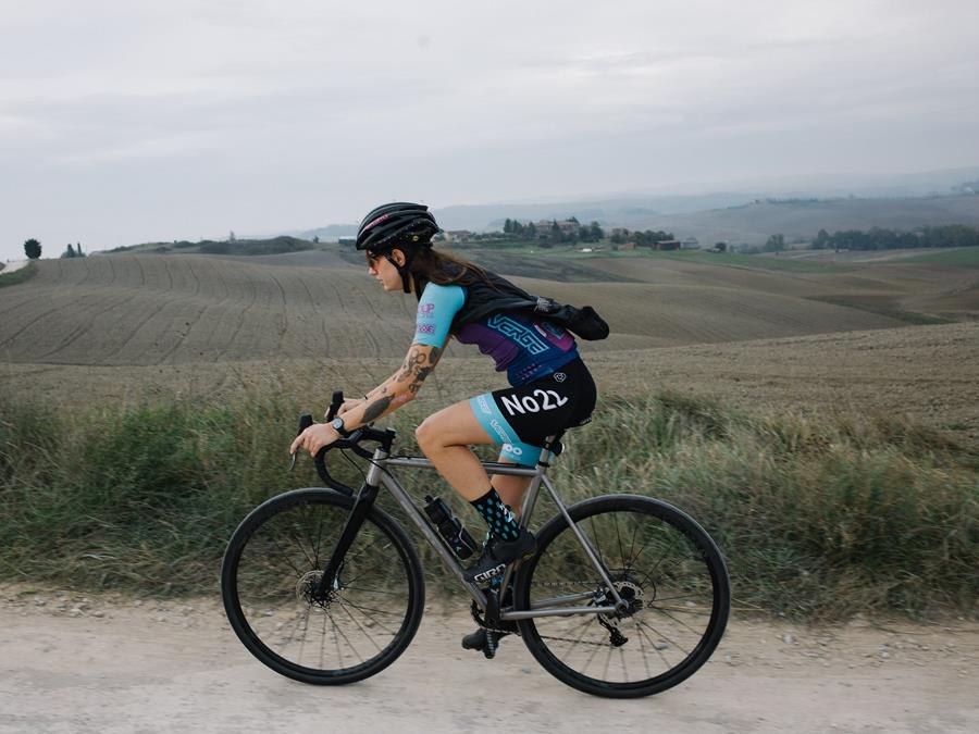 No. 22 Team rider Krista Ciminera on riding Tuscany on a Broken Arrow