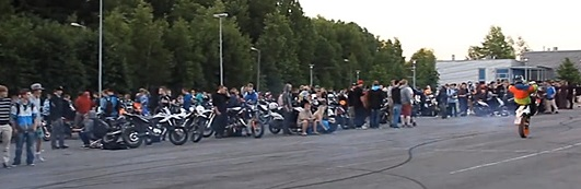 Moped meeting in Finland