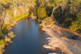 Mine poisons a major QLD river
