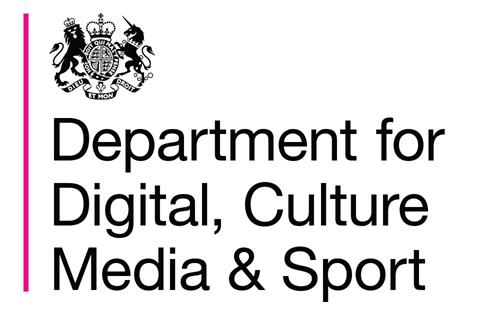 The Department for Digital, Culture, Media and Sport (DCMS) logo