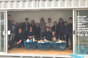 Recycling Incubator - RMIT group photo