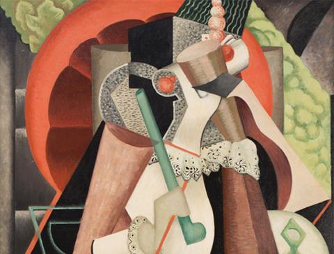 JW Power, Femme à L'ombrelle, c. 1926