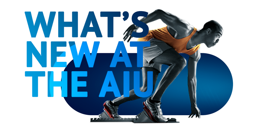 Whats new at the AIU