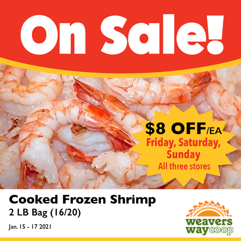 Shrimp on Sale This Weekend