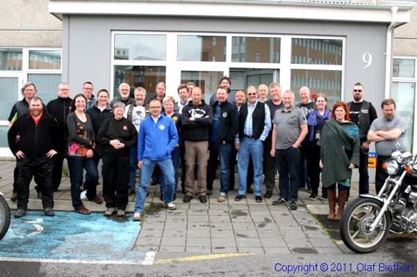 FEMA meeting Iceland