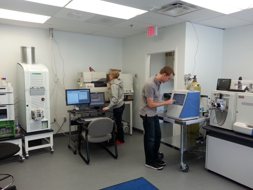 •	The department has developed one of the premier mass spectrometry laboratories in the world.
