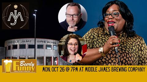 Middle James Brewing Comedy Night