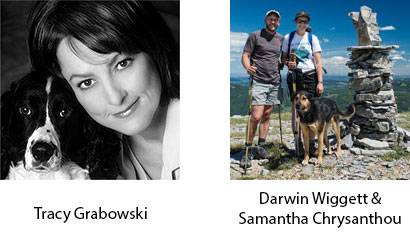 New BSOP Instructors Tracy Grabowski and Darwin Wiggett with Samantha Chrysanthou