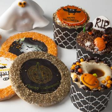Ettore's Halloween cake cups