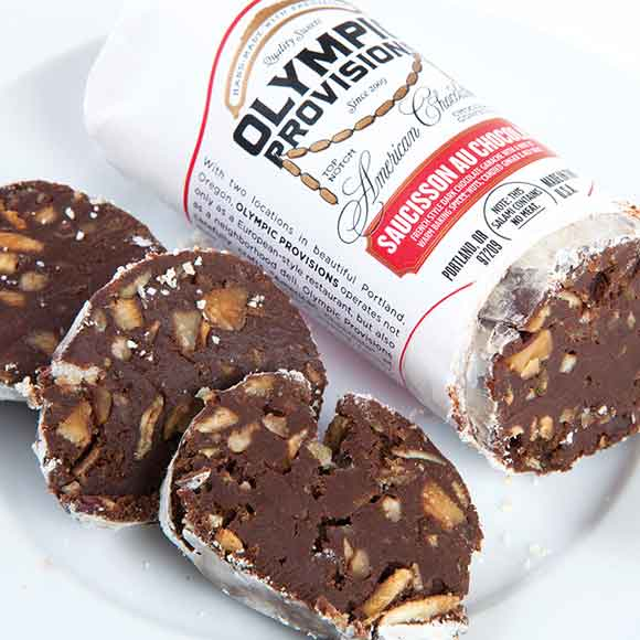 olympic provisions chocolate salami