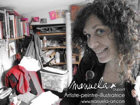 Manuela Dupont signera des dédicaces le 30 octobre sur le stand Creativa de l'Eclat de Verre