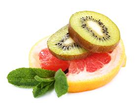 Grapefruit Kiwi Salad