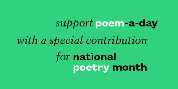 Poem-a-Day donate footer