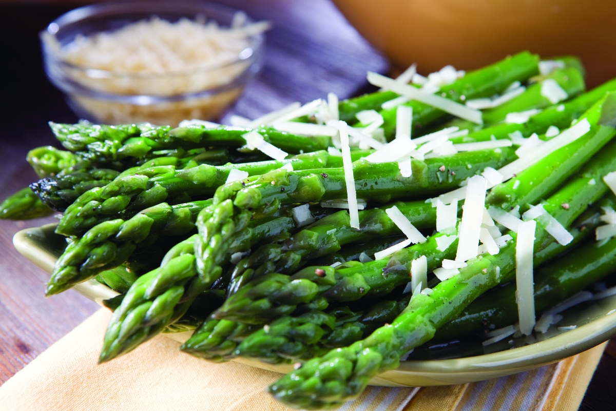 Asparagus with Pecorino
