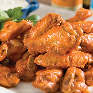 Plate of Hot Wings