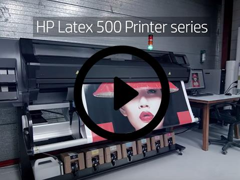 HP Latex 500 Printer series