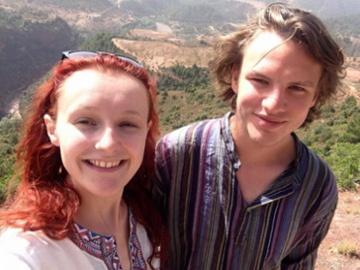 Vanessa Graham and Blake Perkins. © Blake Perkins.
