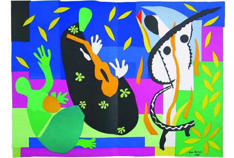 Henri Matisse picture of who knows what