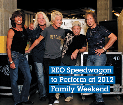 Schedule of Events Announced for 2012 Family Weekend