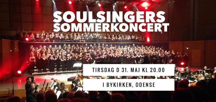 SoulSingers Sommerkoncert d. 31/5