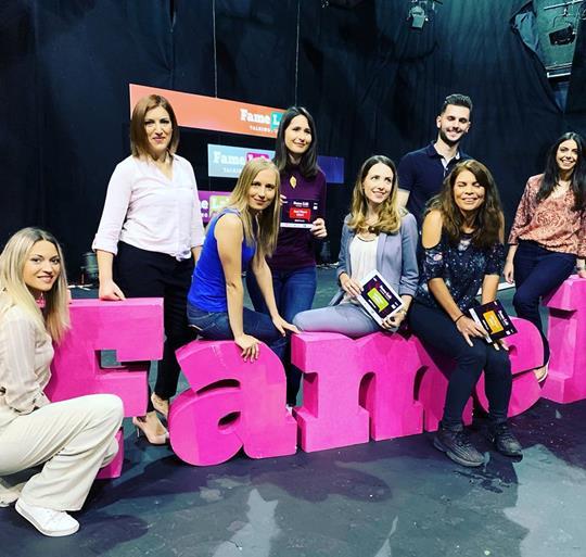 FameLab Cyprus winners 2019