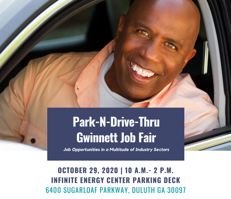 Park-N-Drive-Thru Gwinnett Job Fair