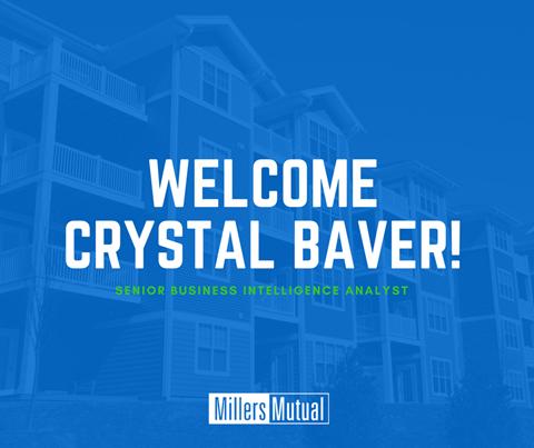 Welcome Crystal Baver!