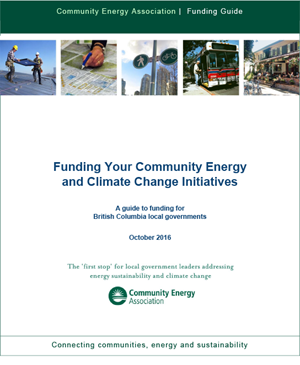 2016 BC Community Energy and Climate Change Funding Guide