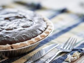 Chocolate Avocado Pie