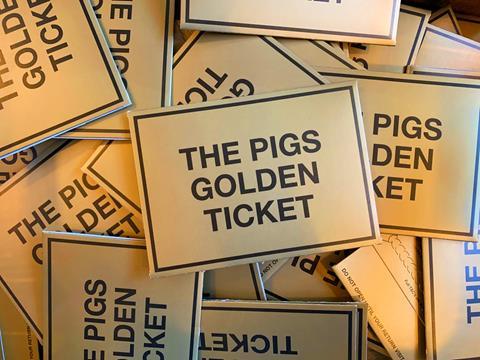 Shiny Golden Tickets